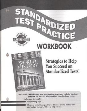 portada world history standardized test practice workbook