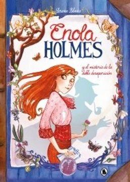 portada Enola Holmes y el Misterio de la Doble Desaparicion [Ilustrado]