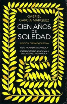 portada Cien Años de Soledad Edicion Conmemorati