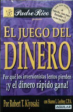 portada EL JUEGO DEL DINERO: POR QUE LOS INVERSIONISTAS LENTOS PIERDEN Y EL DINERO RAPIDO GANA!