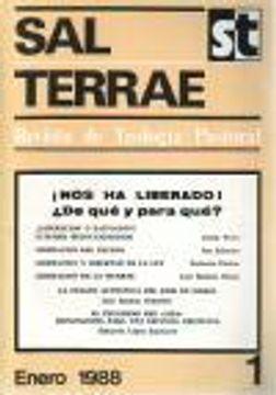 portada Sal Terrae (Revista De Teología Pastoral), 1. Enero 1988
