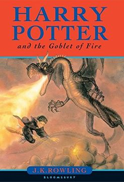 portada Harry Potter and the Goblet of Fire (libro en Inglés)
