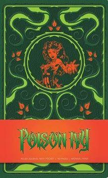 portada Dc Comics - Poison Ivy Ruled Journal (libro en Inglés)