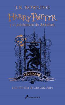 portada Harry Potter y el Prisionero de Azkaban (Edición Ravenclaw del 20º Aniversario) (Harry Potter 3)