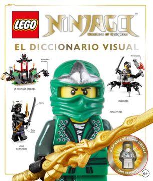portada Ninjago. El Diccionario Visual (Lego) (Dk) (Td)