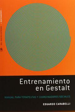 portada Entrenamiento en Gestalt