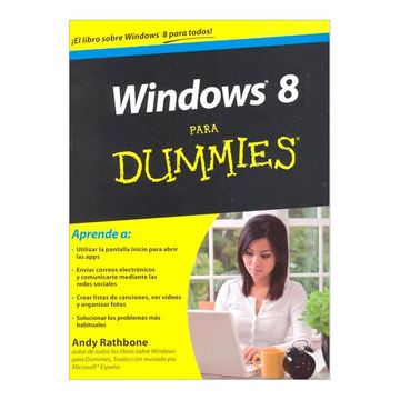 portada Windows 8 Para Dummies