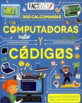 portada Computadoras y Códigos 300 Calcomanías