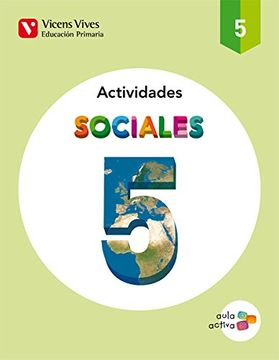 portada Sociales 5 Actividades (Aula Activa) - 9788468215198
