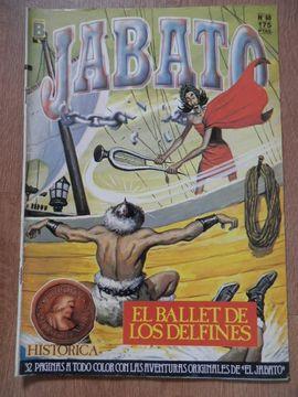 portada Jabato. Edición Histórica. El Ballet De Los Delfines. Nº 60