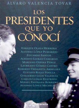 portada los presidentes que yo conoci