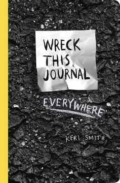 portada Wreck This Journal Everywhere (libro en Inglés)