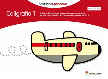 portada Caligrafia 1 Cuadricula Santillana Cuadernos - 9788468012537