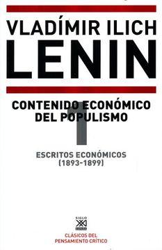 portada Escritos Económicos (1893-1899) 1. Contenido Económico del Populismo: 1209 (Siglo xxi de España General)