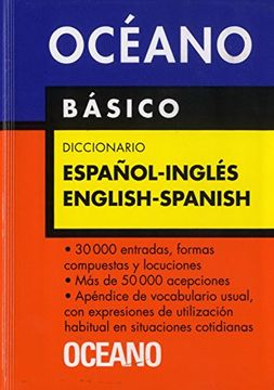 portada Diccionario Oceano Basico Espanol-Ingles English-Spanish