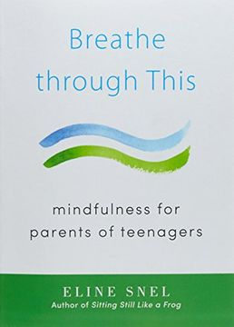 portada Breathe Through This: Mindfulness for Parents of Teenagers (libro en Inglés)