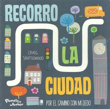 portada Recorro la Ciudad (Ilustrado) (Cartone)