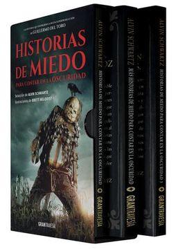 portada Historias de miedo para contar en la oscuridad (paquete película, 3 volúmenes)