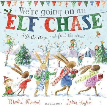 portada We're Going on an elf Chase (libro en Inglés)