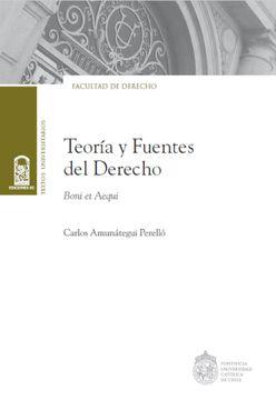 portada Teoría y Fuentes del Derecho: Boni et Aequi