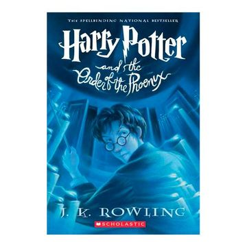 portada Harry Potter and the Order of the Phoenix (libro en Inglés)