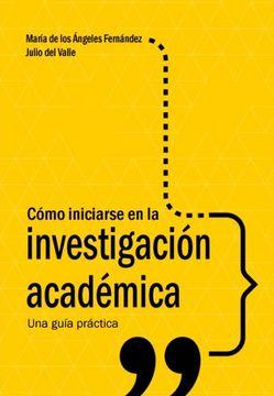 portada Cómo Iniciarse en la Investigación Académica