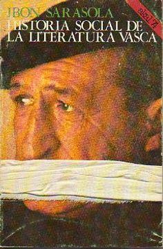 portada historia social de la literatura vasca.