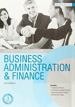 portada Business Administration Finance wb Burlington