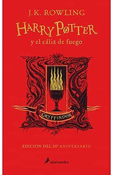 portada Harry Potter y el Cáliz de Fuego (Edición Gryffindor 20 Aniversario)