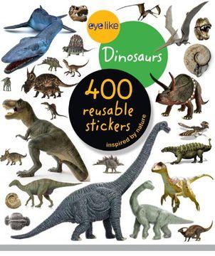 portada eyelike stickers: dinosaurs