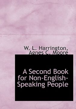 portada a second book for non-english-speaking people