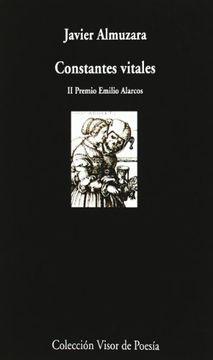 portada Constantes Vitales (ii Premio Emilio Alarcos)