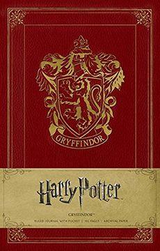 portada Harry Potter Gryffindor Hardcover Ruled Journal (libro en Inglés)