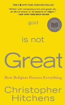 portada God is not Great: How Religion Poisons Everything (libro en Inglés)