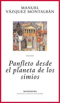portada Panfleto desde el planeta de los simios