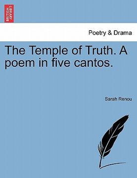 portada the temple of truth. a poem in five cantos.
