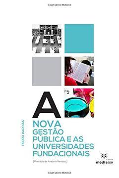 portada A Nova Gestão Pública e as Universidades Fundacionais (libro en Portugués)