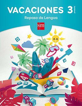 portada Cuaderno De Vacaciones: Repaso De Lengua, 3º Primaria