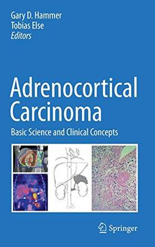 portada Adrenocortical Carcinoma: Basic Science and Clinical Concepts (libro en Inglés)