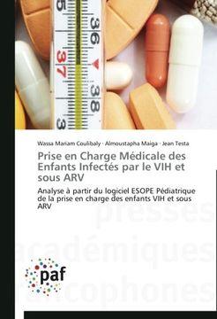 portada Prise En Charge Medicale Des Enfants Infectes Par Le Vih Et Sous Arv