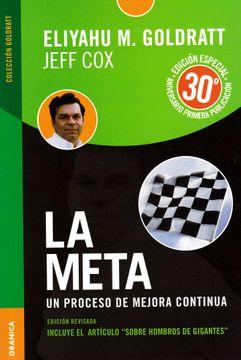 portada Meta Edición Aniversario, la: Un Proceso de Mejora Continua