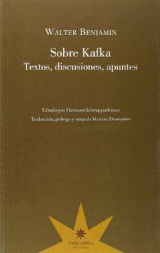 portada Sobre Kafka