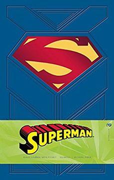 portada Superman Hardcover Ruled Journal (libro en Inglés)