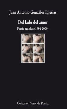 portada Del Lado del Amor: Poesia Reunida (1994-2009)