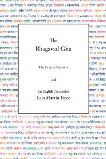 the bhagavad gita,the original sanskrit