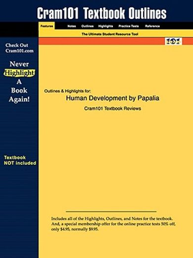 outlines & highlights for human development by papalia isbn
