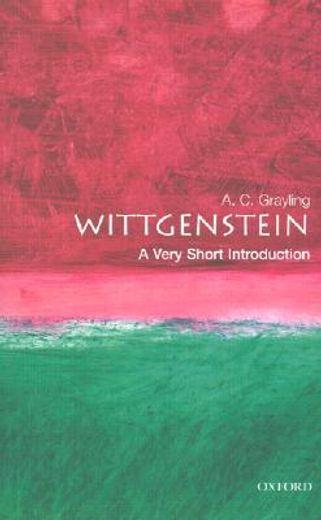 wittgenstein,a very short introduction