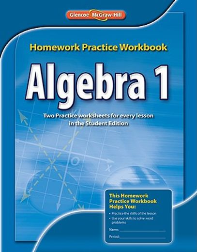algebra 1,homework practice workbook