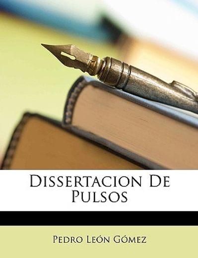 dissertacion de pulsos