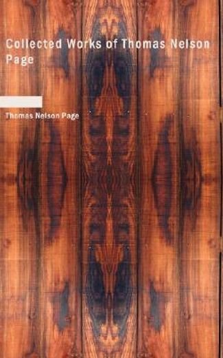 collected works of thomas nelson page